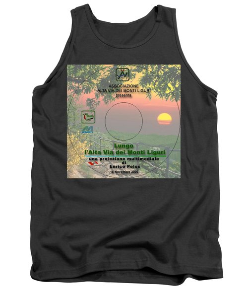 Alta Via Dei Monti Liguri Cd Cover Tank Top