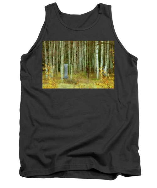 Tank Top featuring the photograph Alvarado Cemetery 41 by Marie Leslie