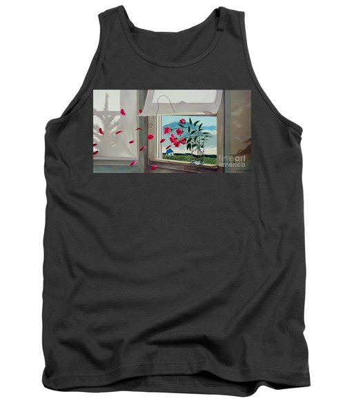 Tank Top featuring the painting Always With You by Christopher Shellhammer