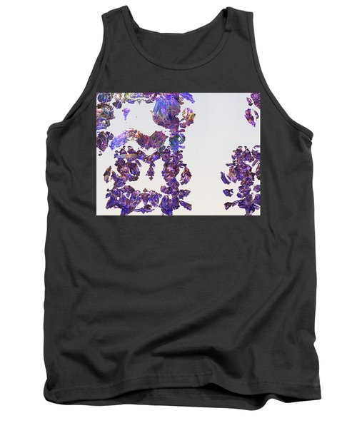Amazing Delicate Fractal Pattern Tank Top