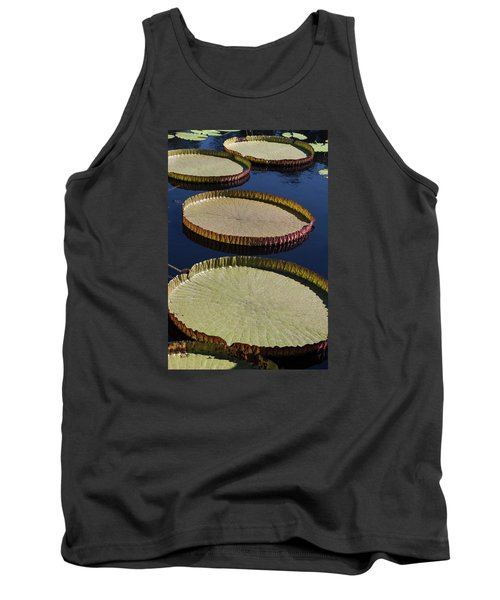 Amazonas Lily Pads II Tank Top by Suzanne Gaff