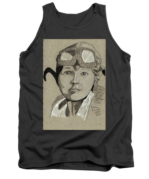 Amelia Earhart Tank Top