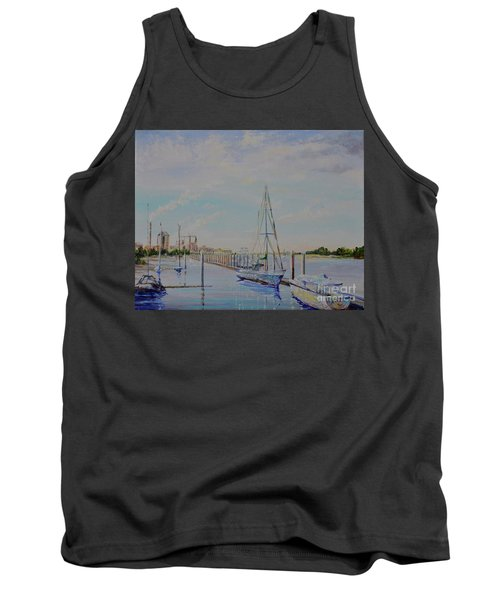 Amelia Island Port Tank Top by AnnaJo Vahle