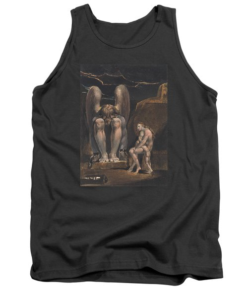 America. A Prophecy, Plate 1, Frontispiece Tank Top by William Blake