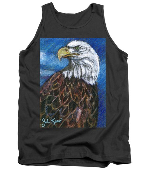 American Bald Eagle Tank Top by John Keaton