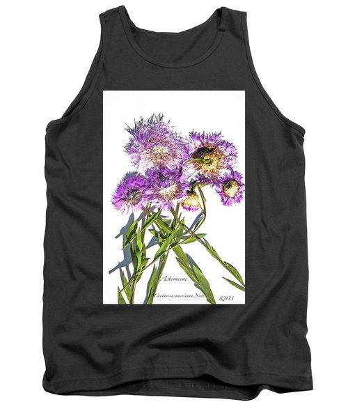 American Basket Flower Tank Top
