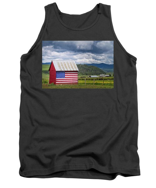 Tank Top featuring the photograph American Landscape by Wesley Aston