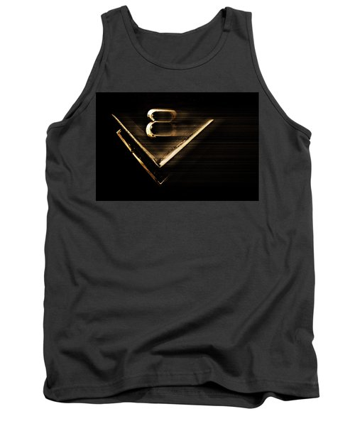 American Muscle V8 Tank Top by Gray  Artus