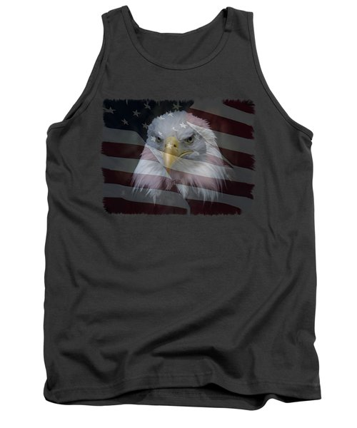 Tank Top featuring the photograph American Pride 2 by Ernie Echols