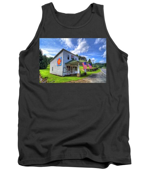 Americana Tank Top by Dale R Carlson