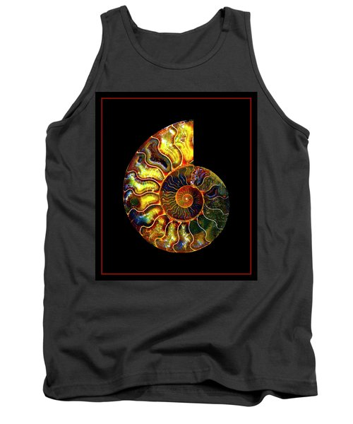 Ammonite Fossil - 8322-3 Tank Top