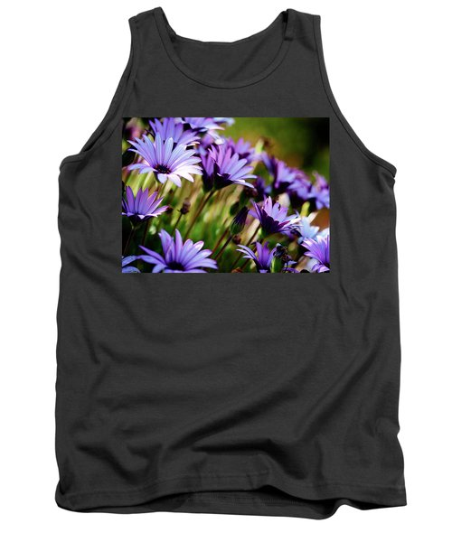 Among The Flowers Tank Top