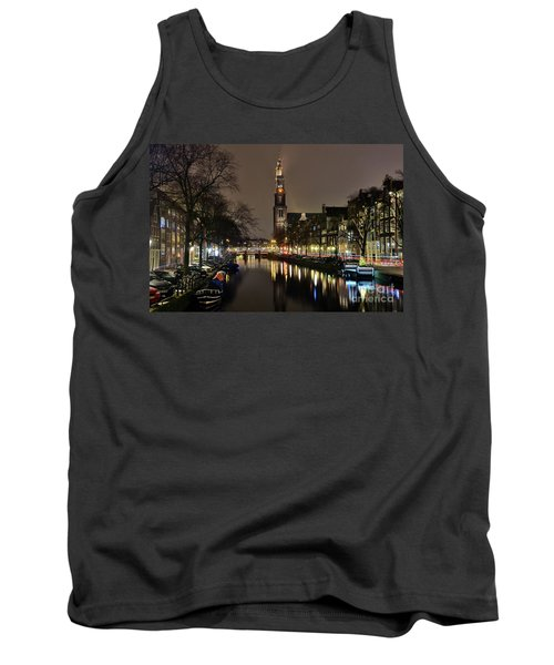 Amsterdam By Night - Prinsengracht Tank Top