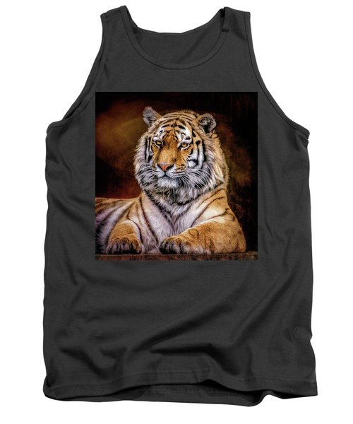 Amur Tiger Tank Top by Brian Tarr