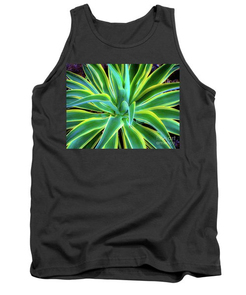 An Agave In Color  Tank Top