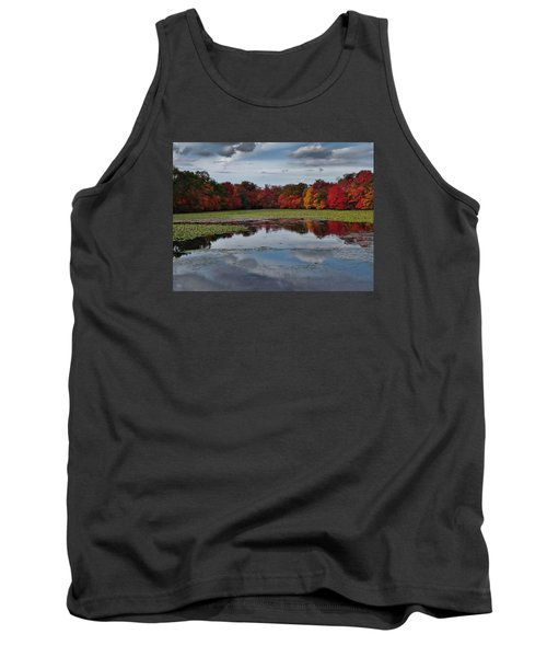 An Autumn Day Tank Top by Mikki Cucuzzo