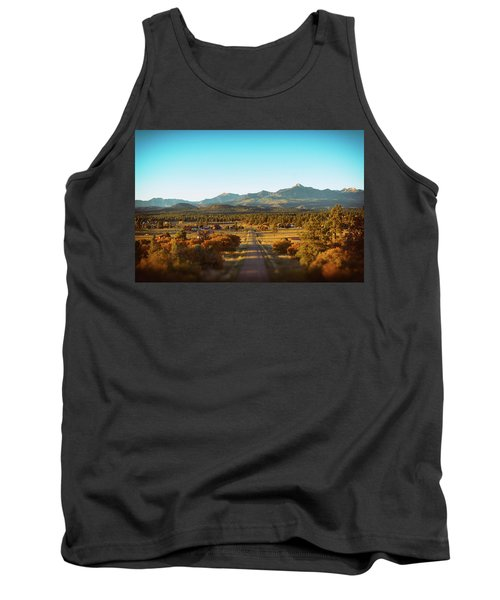 An Autumn Evening In Pagosa Meadows Tank Top