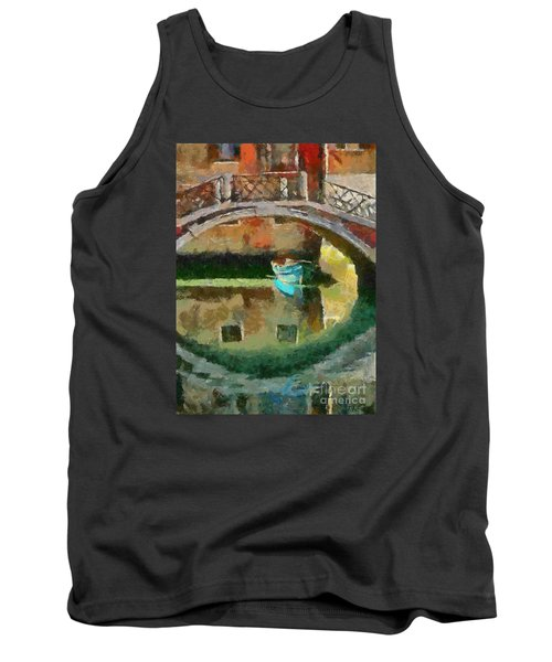 An Early Morning In Venice Tank Top by Dragica  Micki Fortuna