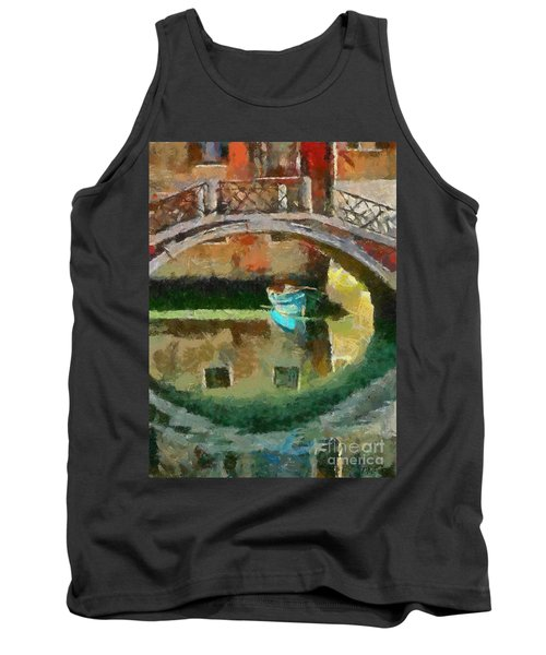 An Early Morning In Venice Tank Top