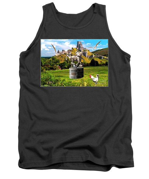 An Echo Of Past Time Tank Top