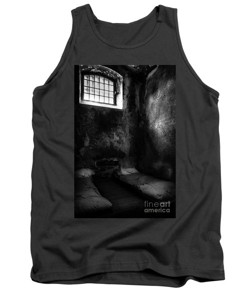 Tank Top featuring the photograph An Empty Cell In Old Cork City Gaol by RicardMN Photography