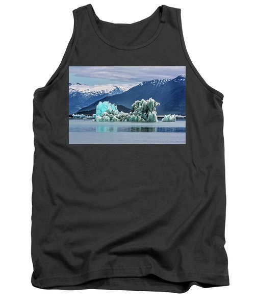An Iceberg In The Inside Passage Of Alaska Tank Top
