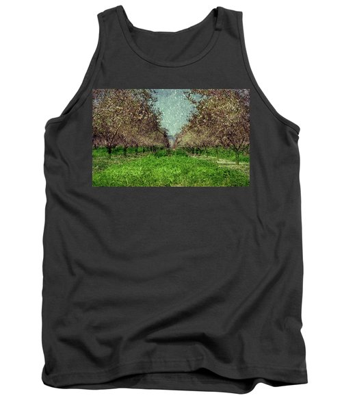 An Orchard In Blossom In The Eila Valley Tank Top