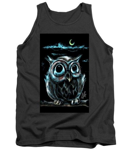 An Owl Friend Tank Top