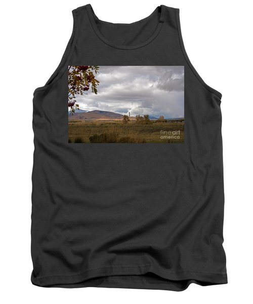 Anaconda Smelter Stack Tank Top by Cindy Murphy - NightVisions