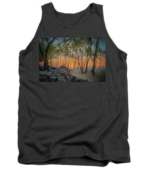 Anaehoomalu Beach Sunset Tank Top
