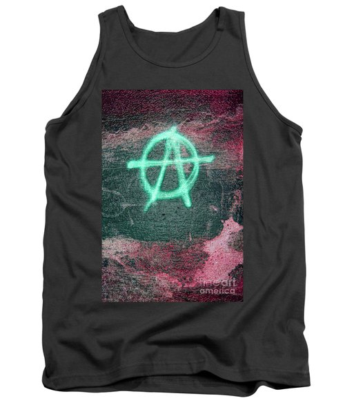 Anarchy In Tallinn Tank Top by Todd Breitling