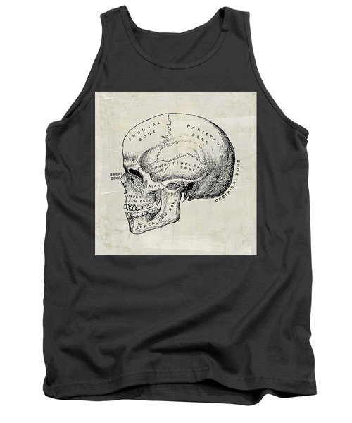 Anatomical Skull Medical Art Tank Top