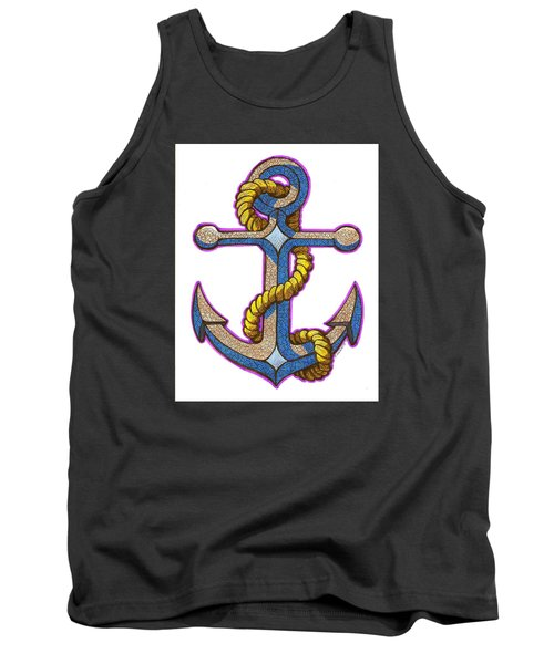 Anchor Colorized Tank Top
