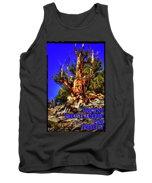 Ancient Bristlecone Pine Forest Tank Top