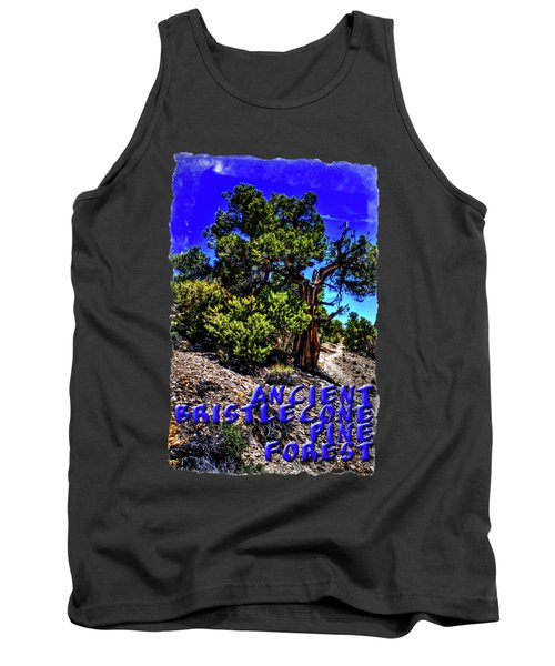 Ancient Bristlecone Pine Tree Tank Top