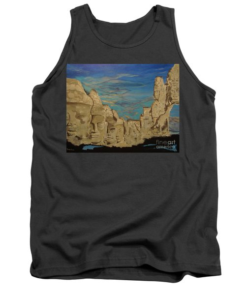 Ancient Clouds Tank Top
