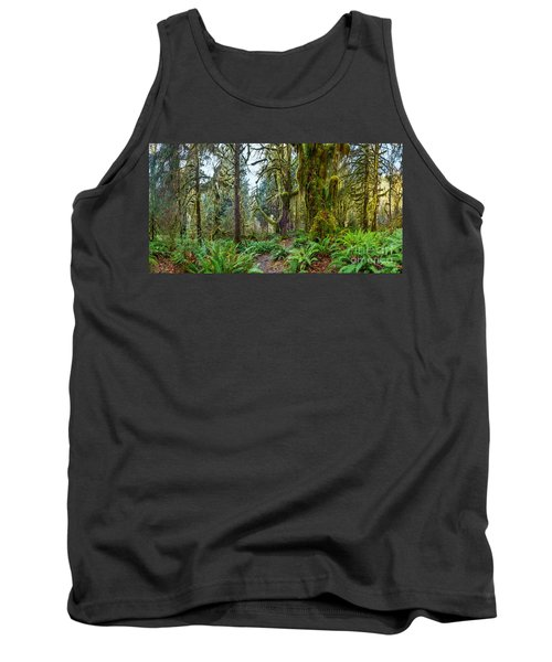Ancient Forest Panorama Tank Top