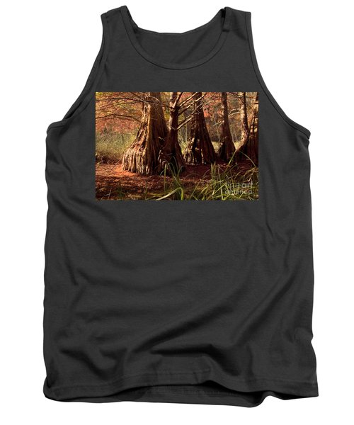 Tank Top featuring the photograph Ancient Tree At Lake Murray by Tamyra Ayles