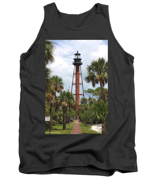 Anclote Key Lighthouse Tank Top