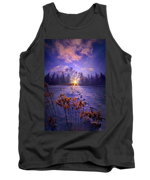 Tank Top featuring the photograph And Back Again by Phil Koch