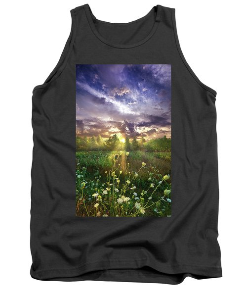 And In The Naked Light I Saw Tank Top