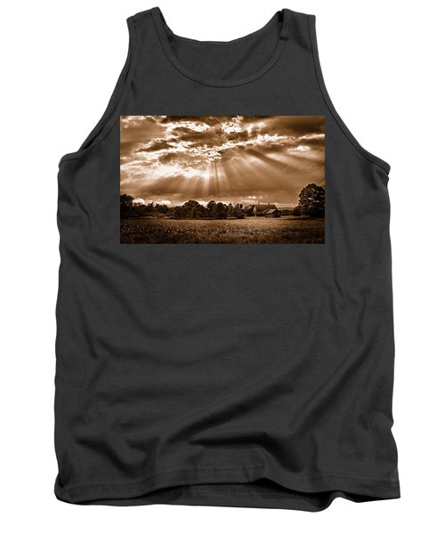 And The Heavens Opened 3 Tank Top