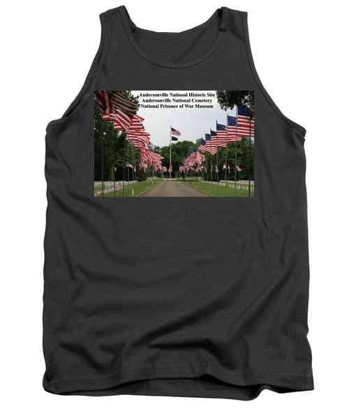 Andersonville National Park Tank Top by Jerry Battle