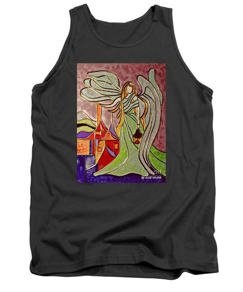 Angel  Tank Top by AmaS Art