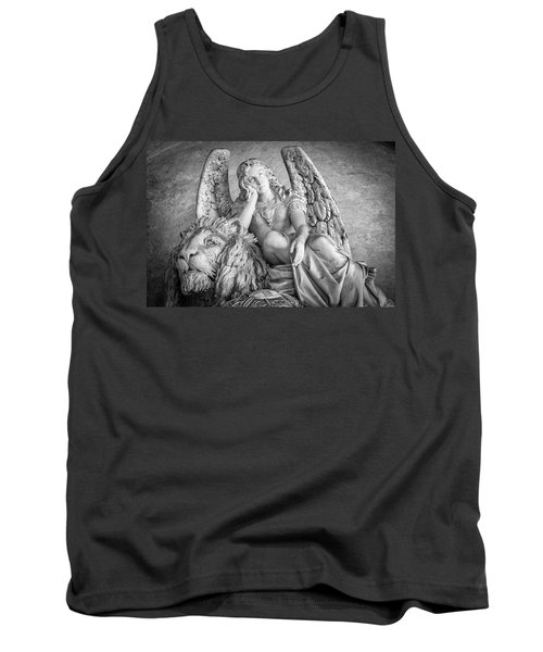 Angel And Lion Tank Top