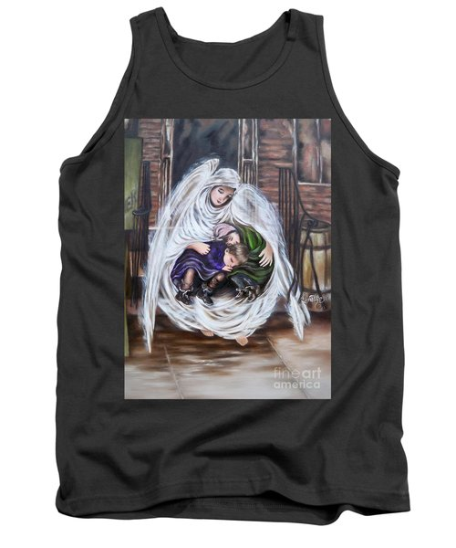 Flying Lamb Productions.        Angel And The Orphans Tank Top