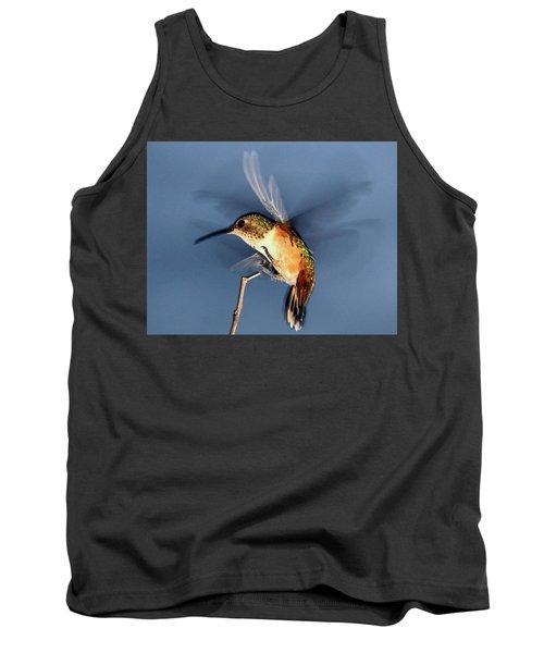 Angel Morphing Into A Hummingbird Tank Top
