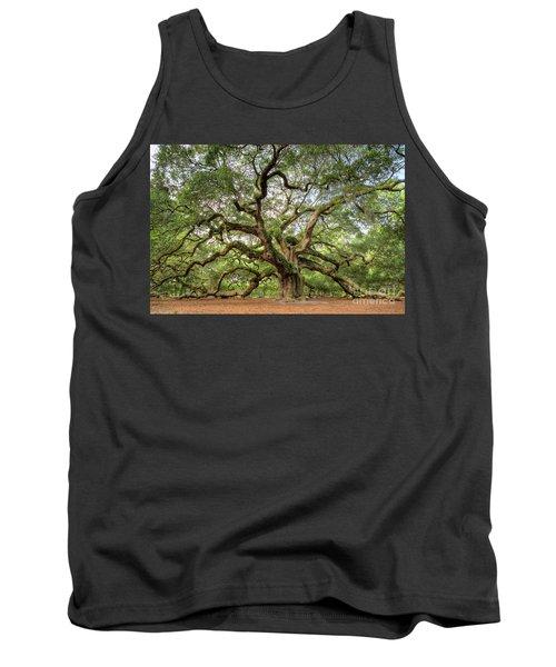 Angel Oak Tree Of Life Tank Top