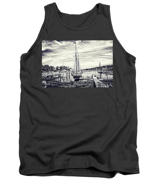 Angelique Resting At Home Tank Top by Daniel Hebard