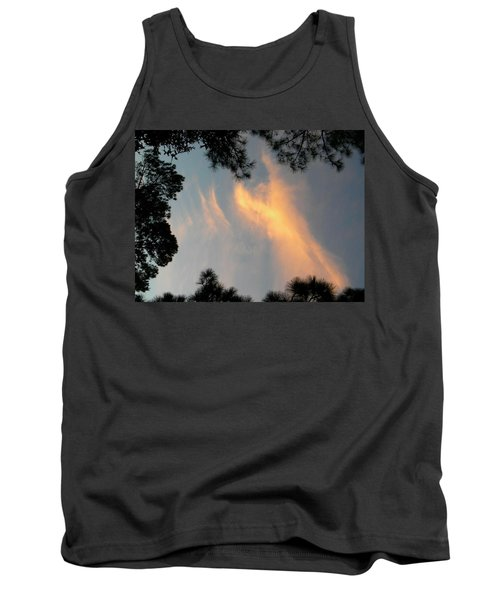 Angels Over The Front Yard Tank Top